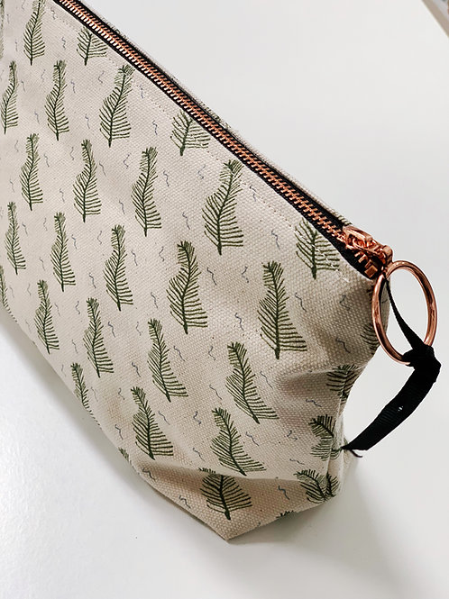 Fern Gully in Moss Makeup Bag