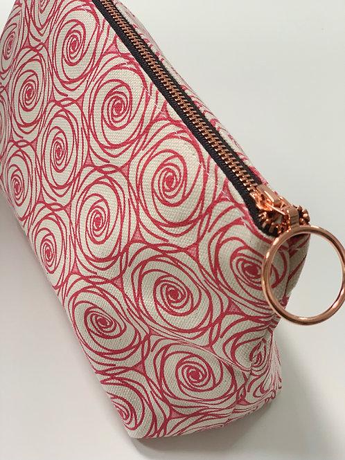 Rosie Posie in Blush Makeup Bag