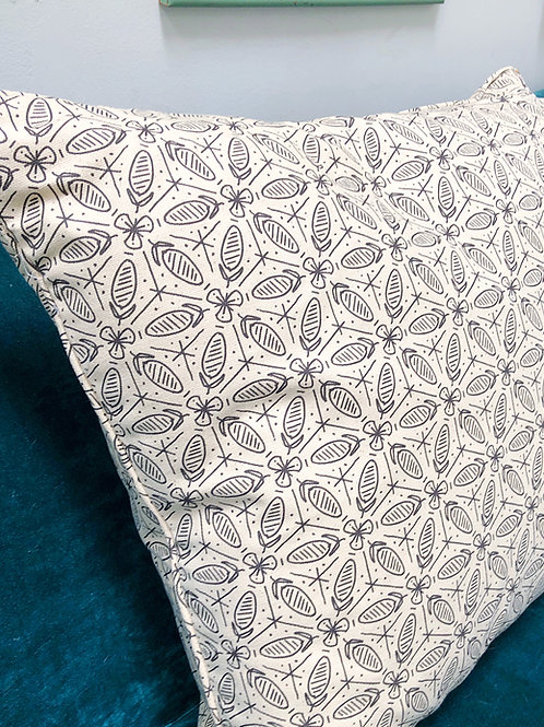 Carnivale Pillow Cover with Self-Welt Trim