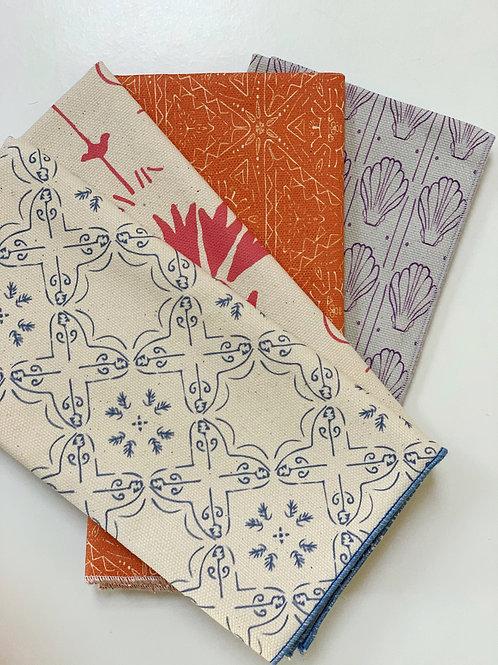 Variety Napkin Set - Bavel, La Fleur, Quest, Venus