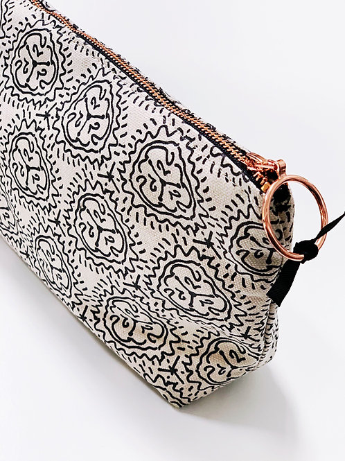 Tiger Lily Makeup Bag