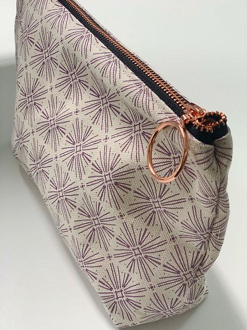 Stellar in Violet Makeup Bag
