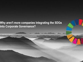 Why aren't more companies Integrating the SDGs into Corporate Governance?