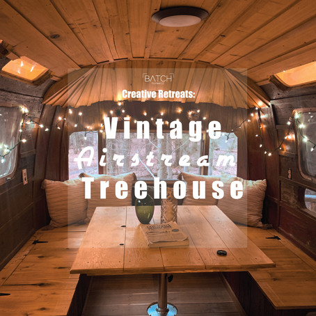Creative Retreats 001 - Vintage Airstream Treehouse at The Mohicans Wedding Venue & Treehouses.