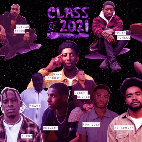 Amongst the Stars - R&B Class of 2021 Artists to Watch