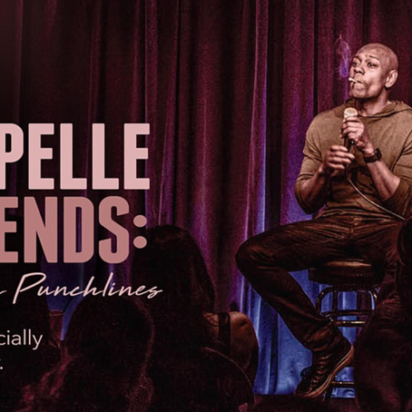 Dave Chappelle: A Talk with Punchlines - Future of Live Events