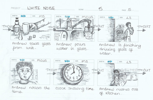 White Noise (Storyboard)