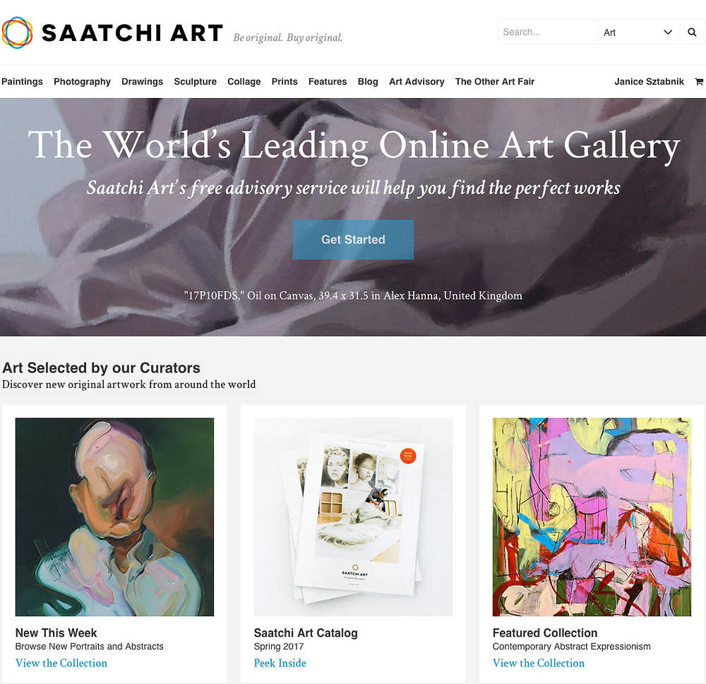 Janice Sztabnik: Saatchi Featured Collection