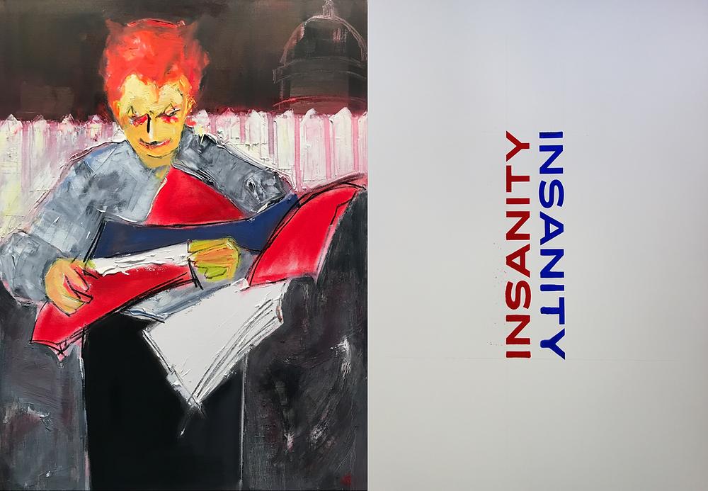 Insanity Diptych | Janice Sztabnik