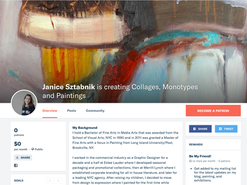 Launching my Patreon Page
