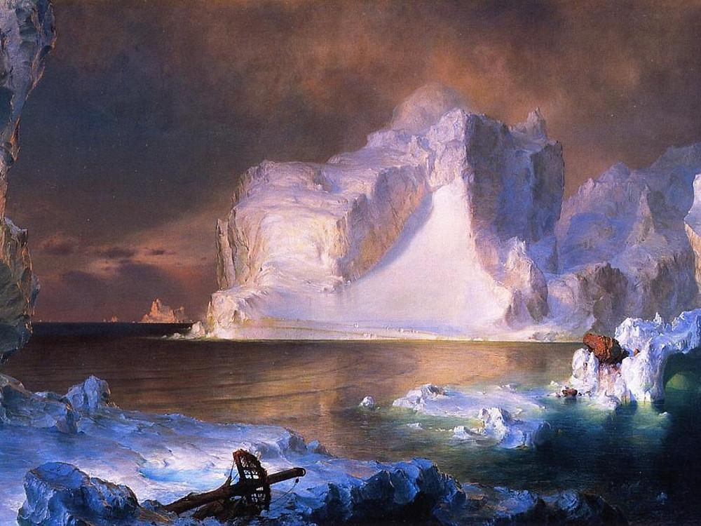 Frederic Church, The Icebergs