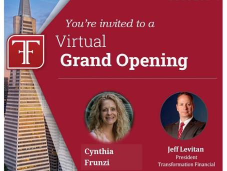 Virtual Grand Opening
