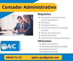 Contador Administrativo
