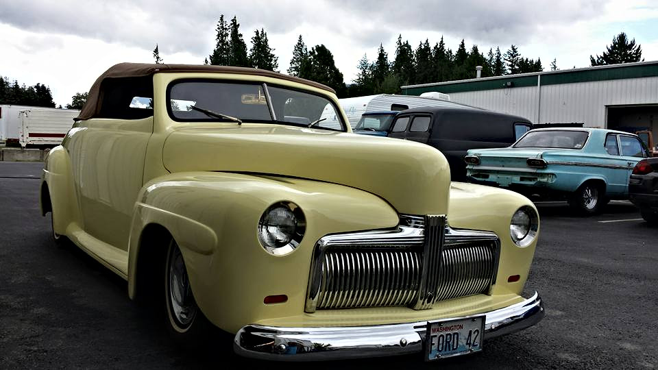 1942 Ford Front End