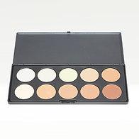 10 Pan Powder Contour Palette