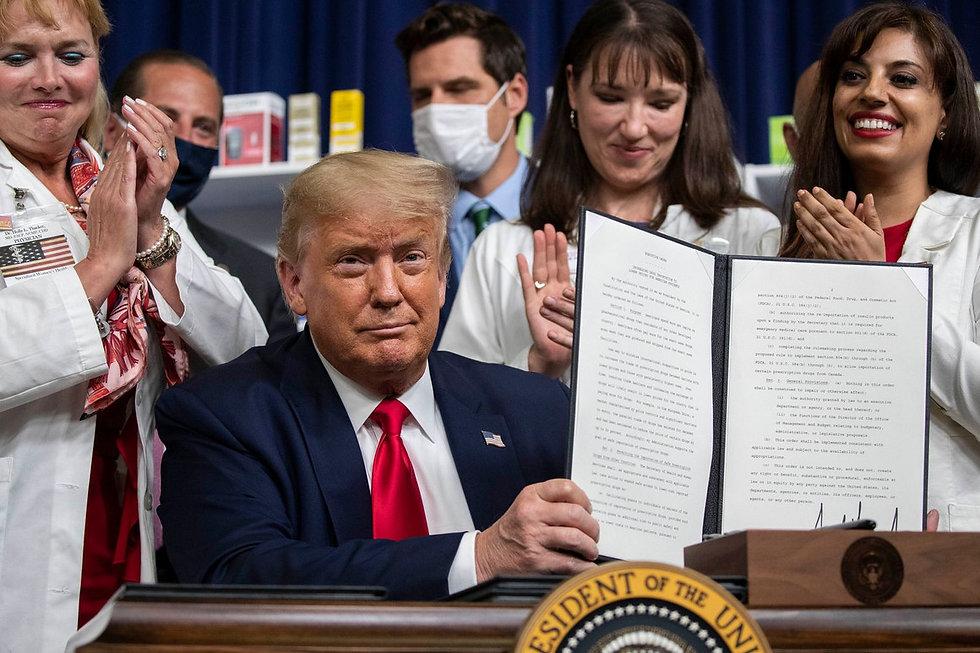 Response to Coronavirus Reflects Trump's Plan to Radically Reform Health Care