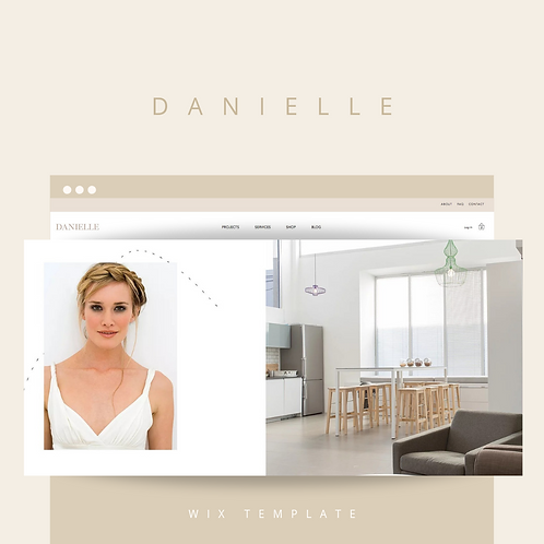Danielle  |  Wix Website Starter