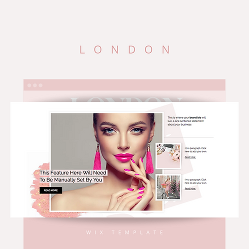London  |  Wix Website Starter