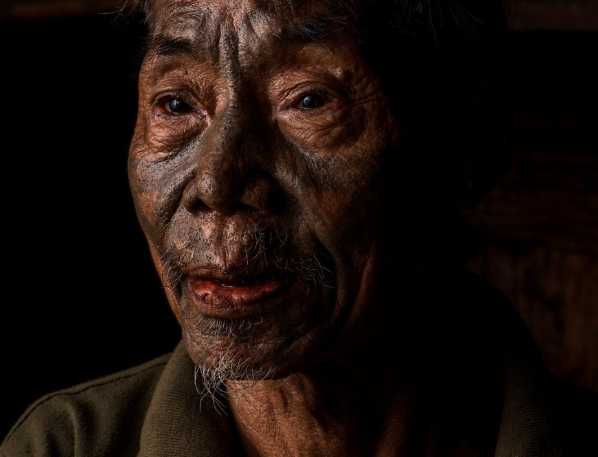 "Thomyea, ""Headhunters"", Nagaland, India. November, 2017."