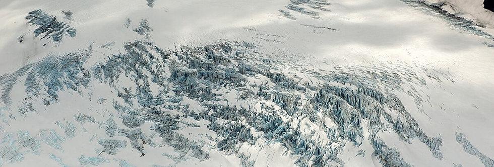 Grewingk Glacier, Kachemak Bay, Alaska. July, 2016.
