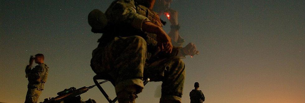 Sniper, Mosul, Iraq. July, 2006.