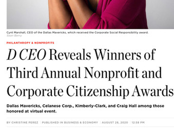 D CEO Reveals Winners of Third Annual Nonprofit and Corporate Citizenship Awards
