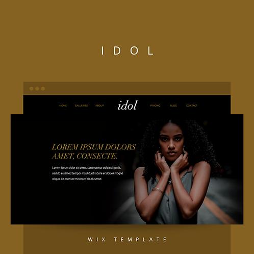 Idol  |  Wix Website Starter