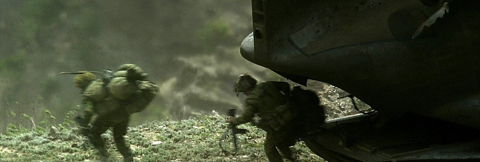 The Hunt, Tora Bora, Afghanistan. May, 2002.