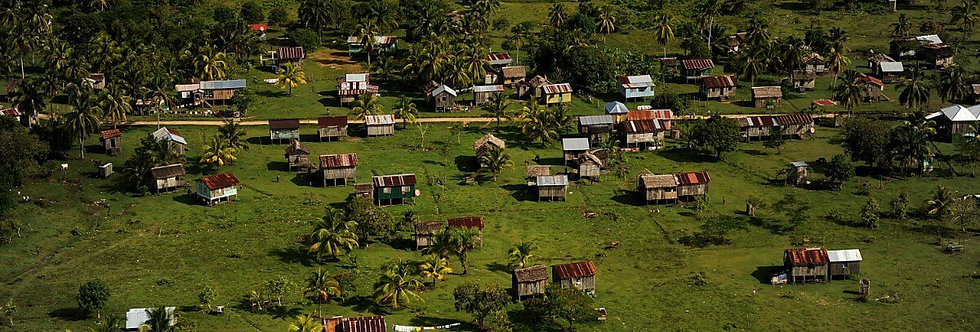 Wawina Village, Mosquito Coast, Honduras. April, 2012.