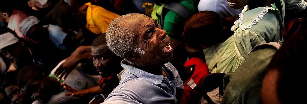Overrun, Port au Prince, Haiti. January 2010.