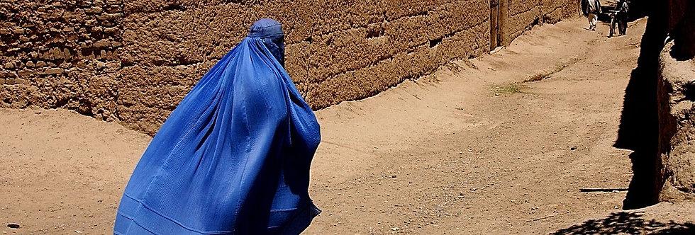 Veiled, Gardez, Afghanistan. May, 2002.