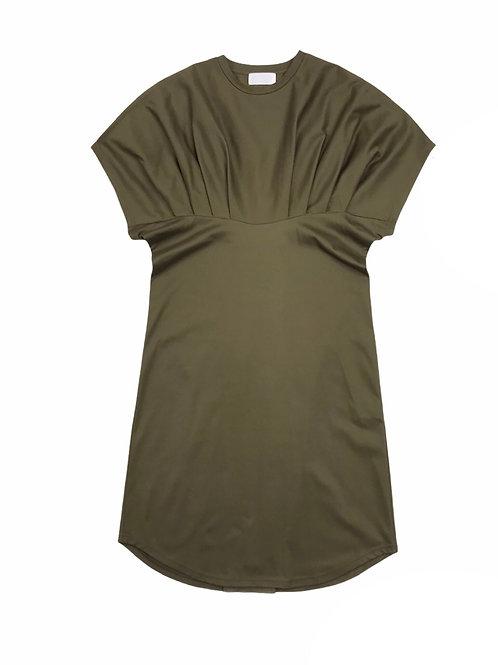 waist tuck one-piece ( olive )