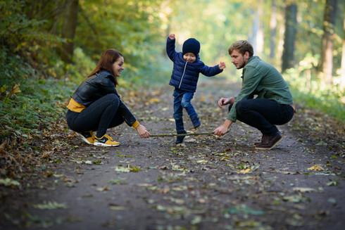 podzimní rodinné focení