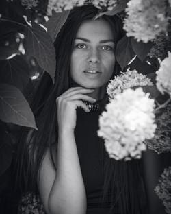 portrét ČB 3
