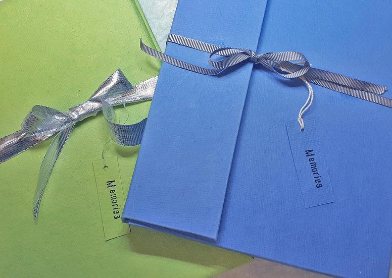 Handmade 'memories' journal