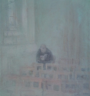 lost painting - oil on canvas - sold to