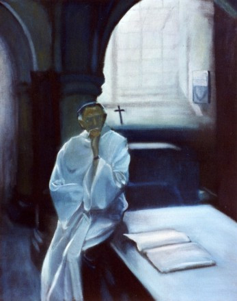 Dennis in the vestry - sold to private c