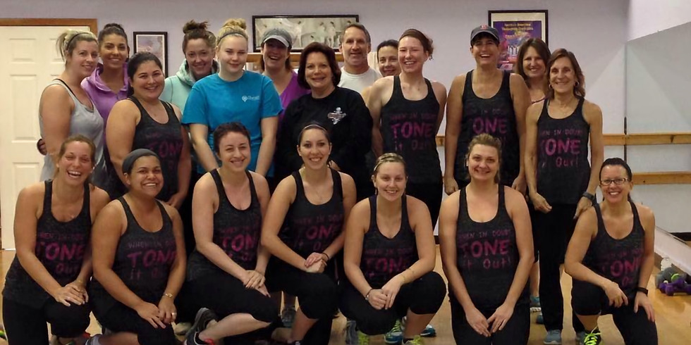 Sweat & Sip - Tone it out! Total Body Toning