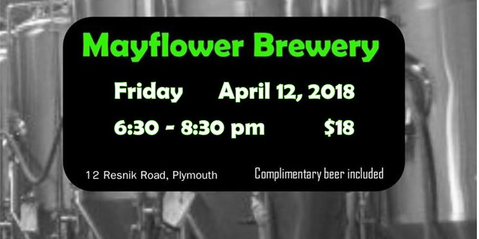 April 12 - Mayflower Brewery POUND & POUR