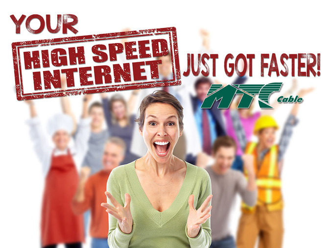 Your Internet Speed just got Faster!