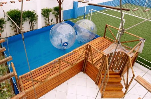 Aqua Ball com deck