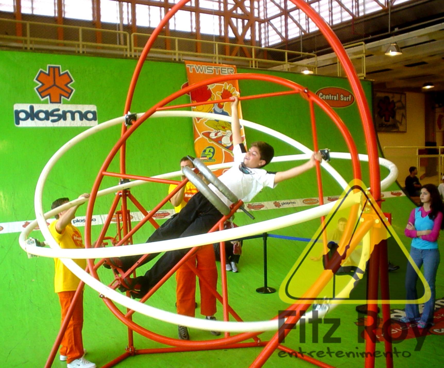 Giromaster estrutura móvel