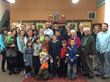 Family Photo with Missionary to Guatamala