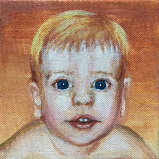 """5"""" x 5"""" portrait"""