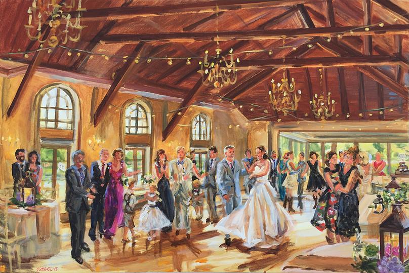 Barn wedding, long island
