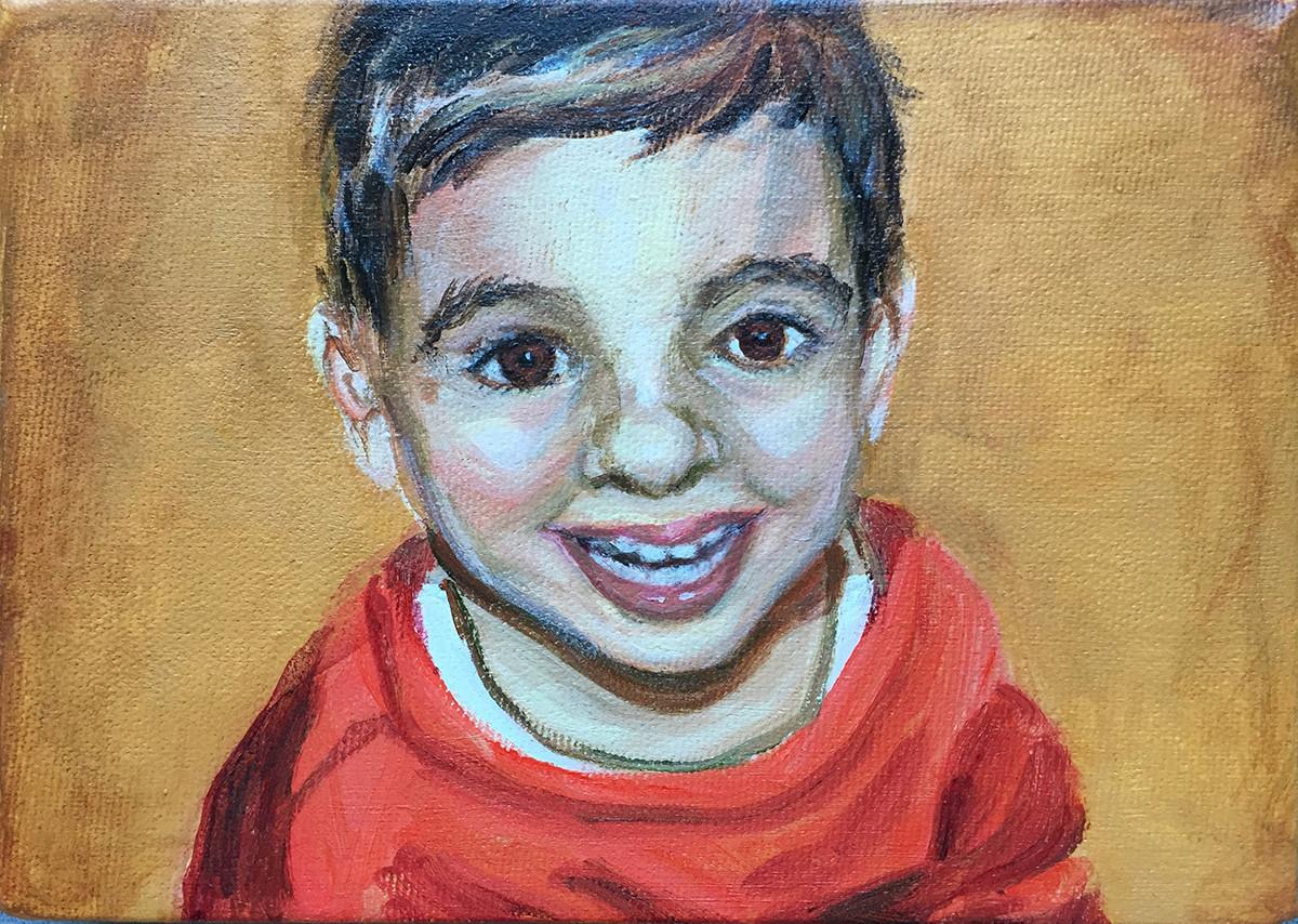"""5"""" x 7"""" portrait"""