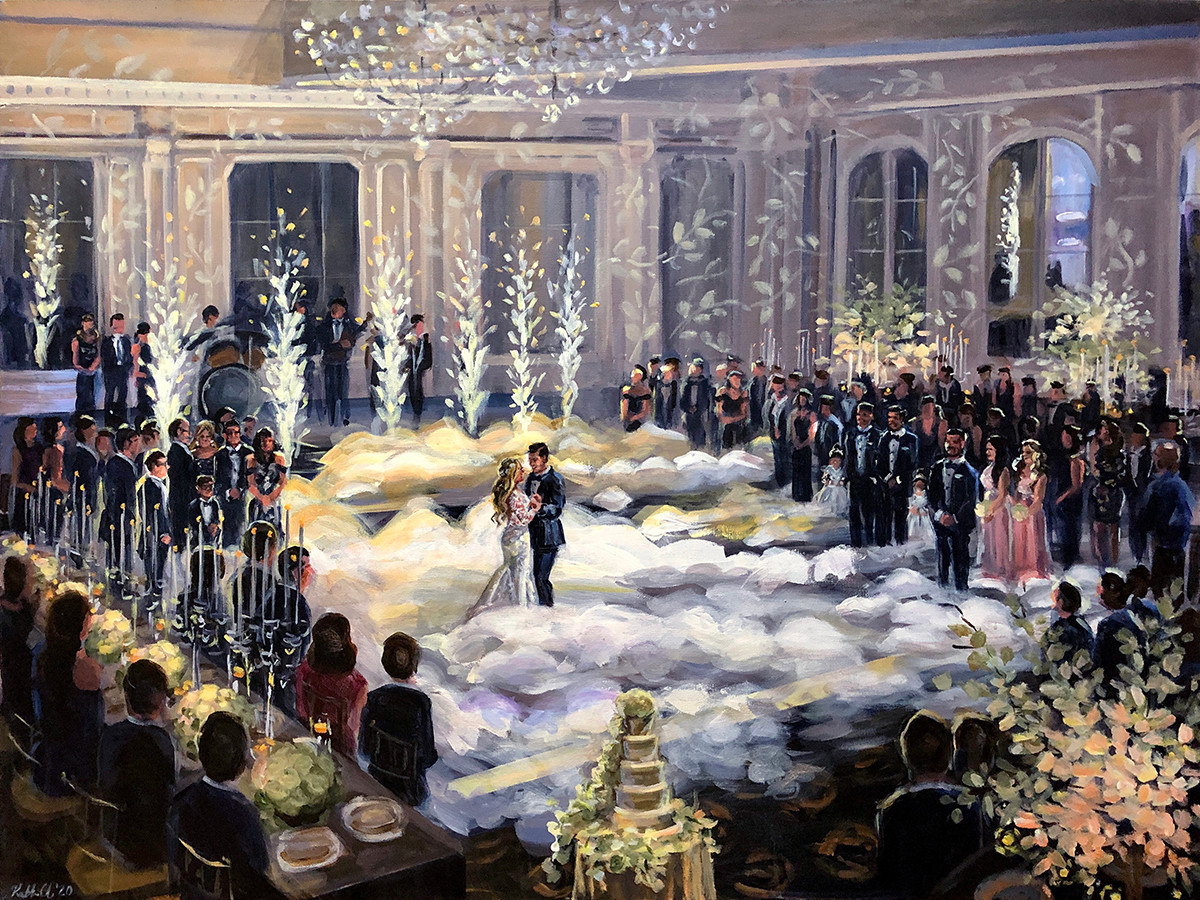 "Mike ""The Situation"" and Lauren Sorrentino's wedding, 30"" x 40"""