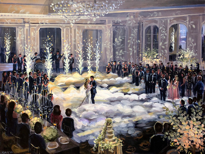 """Mike """"The Situation"""" and Lauren Sorrentino's wedding, 30"""" x 40"""""""