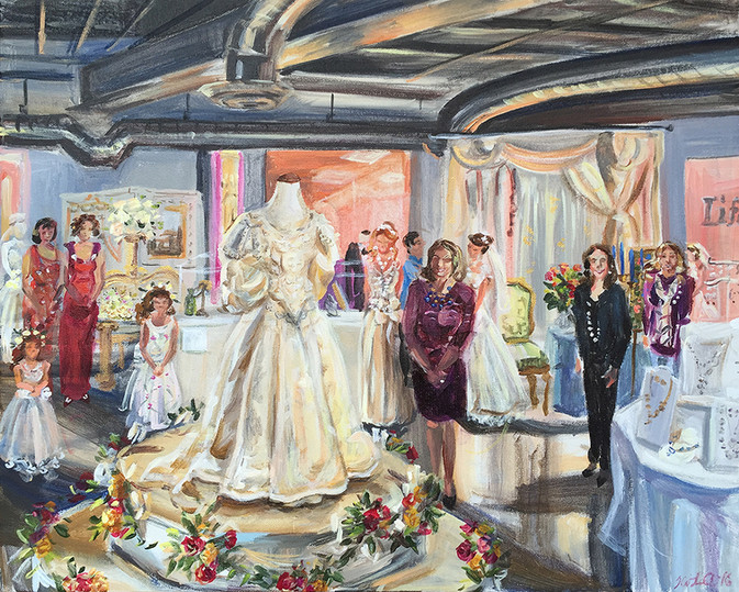 Fashion/wedding showcase