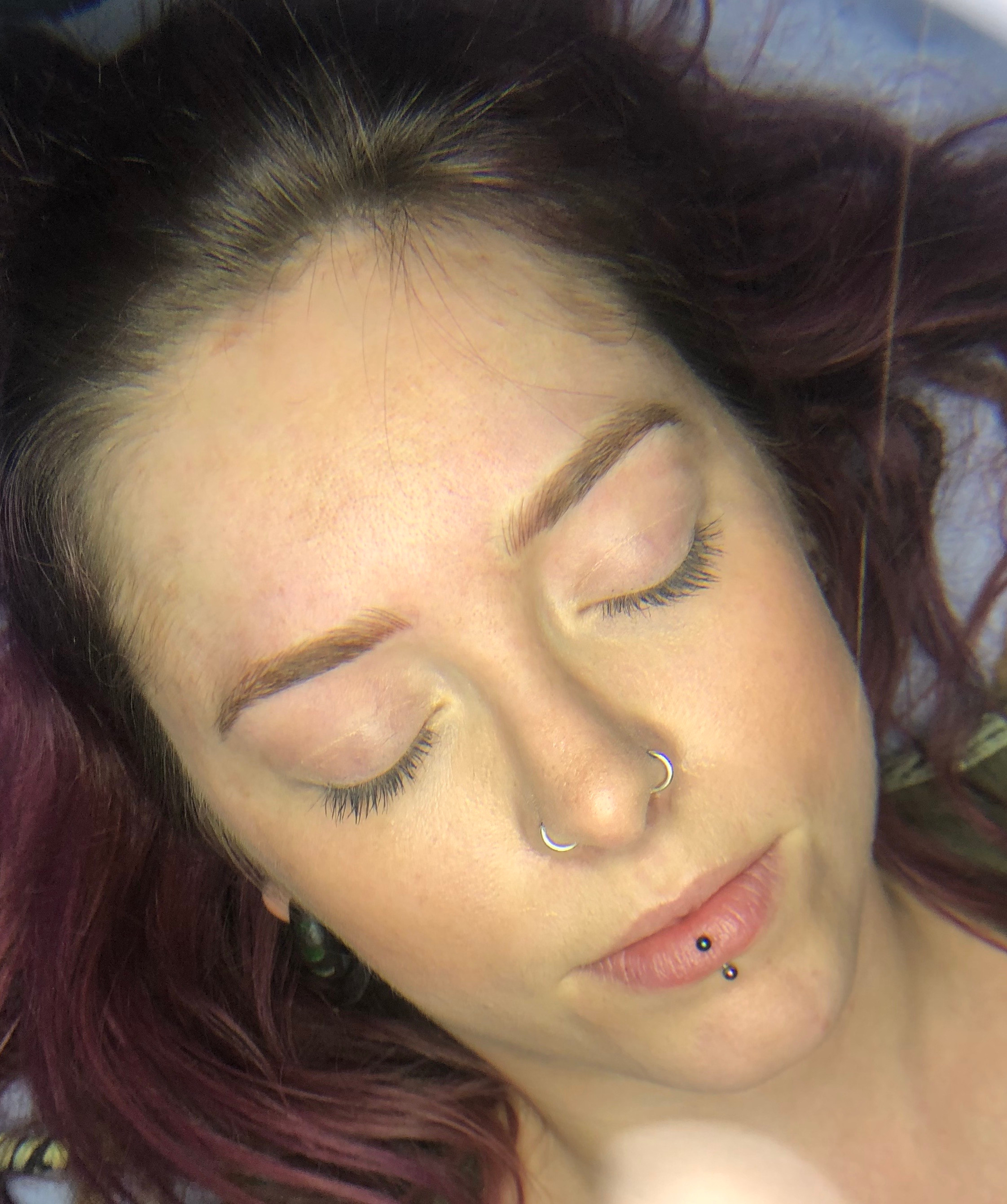Consultation for semi permanent brows